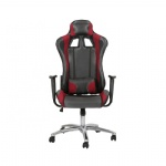 FPu Leather Gaming Chair Racing Chair for Office Use with Armrest